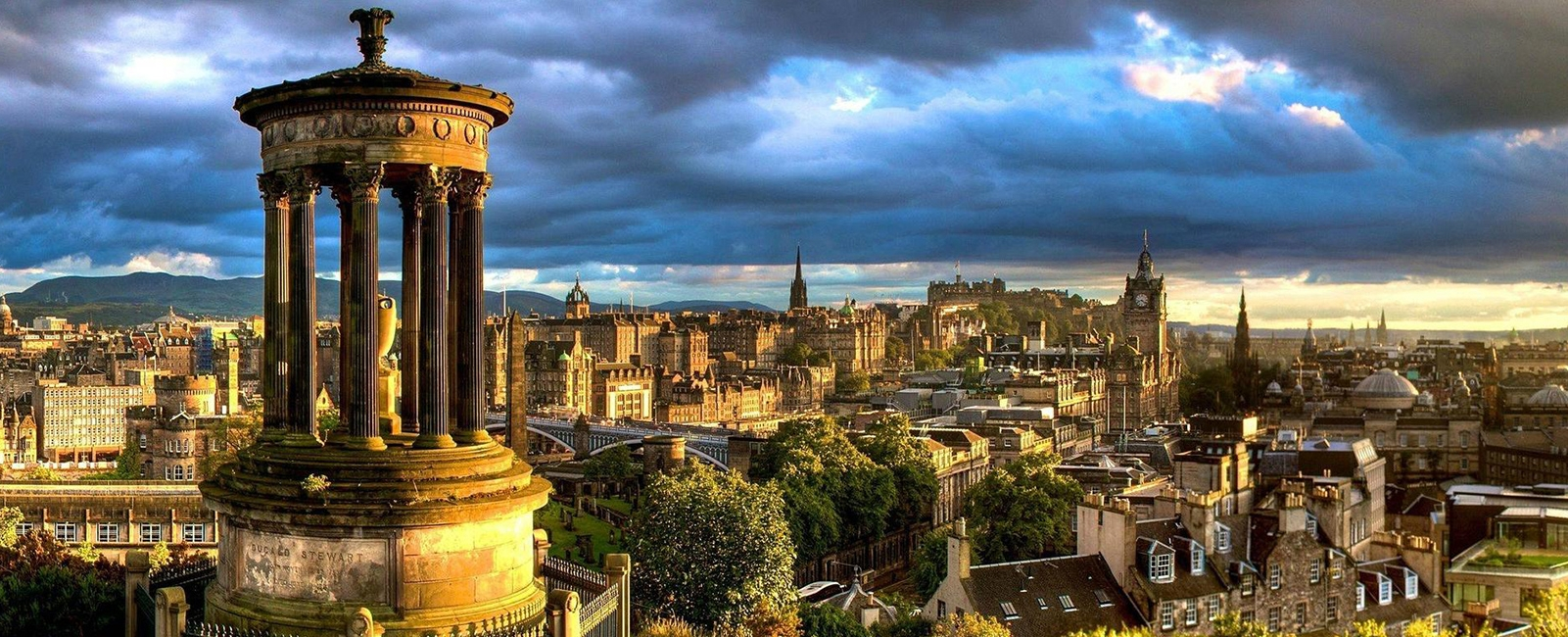 Edinburgh, Scotland Cityscape